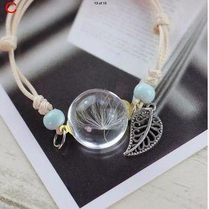 Jewelry - NWT Wish Bracelet Real Dandelion Seed
